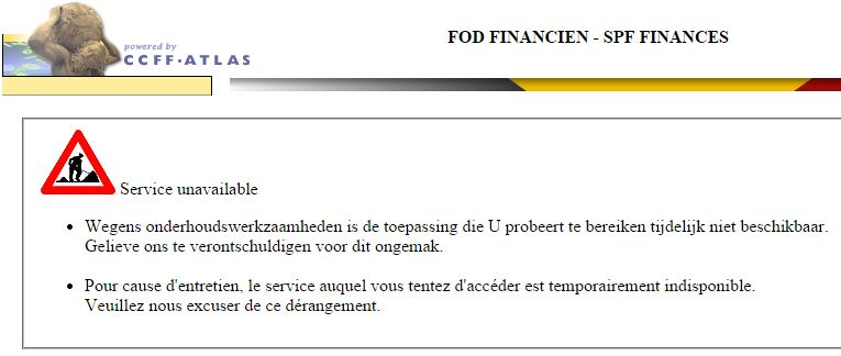 Tax-on-web en maintenance